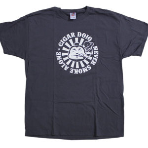 Cigar Dojo gray shirt