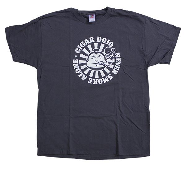 Cigar Dojo gray shirt