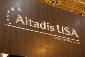 Altadis USA 2015 IPCPR booth logo