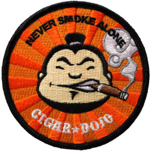 Cigar Dojo patch for sale