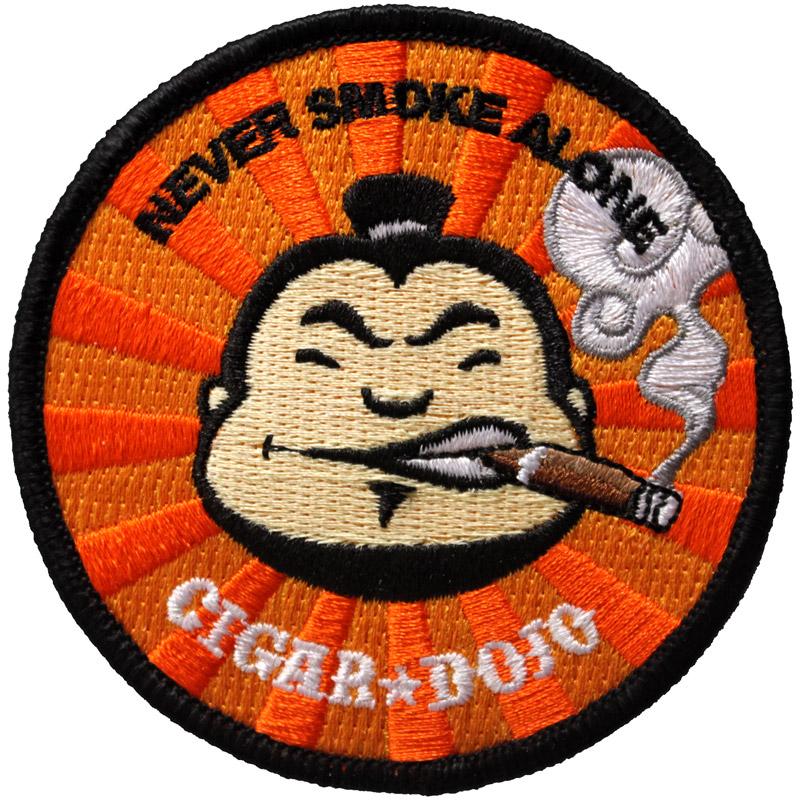 Cigar Dojo patch for sale
