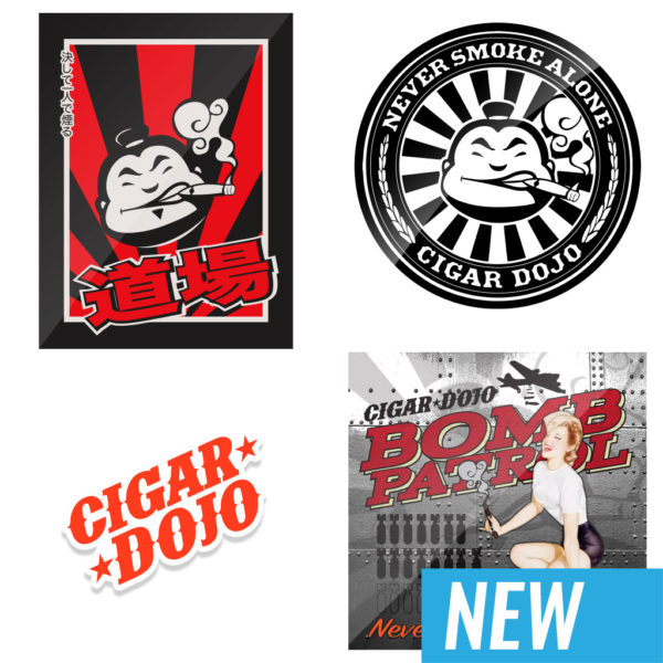 Cigar Dojo Sticker Pack Late 2018