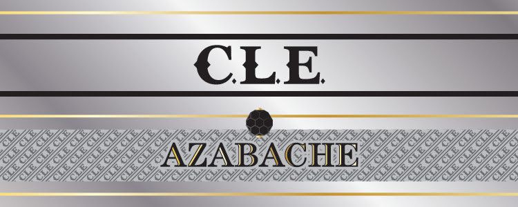 C.L.E. TAA Azabache cigar band