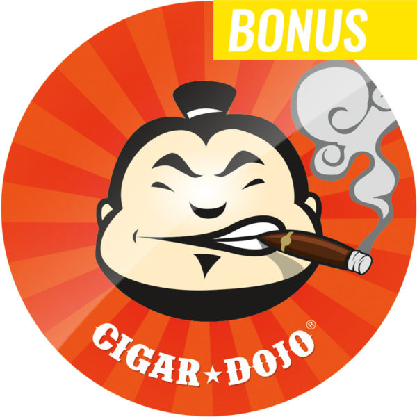 Cigar Dojo Starburst Sticker Round Bonus Item