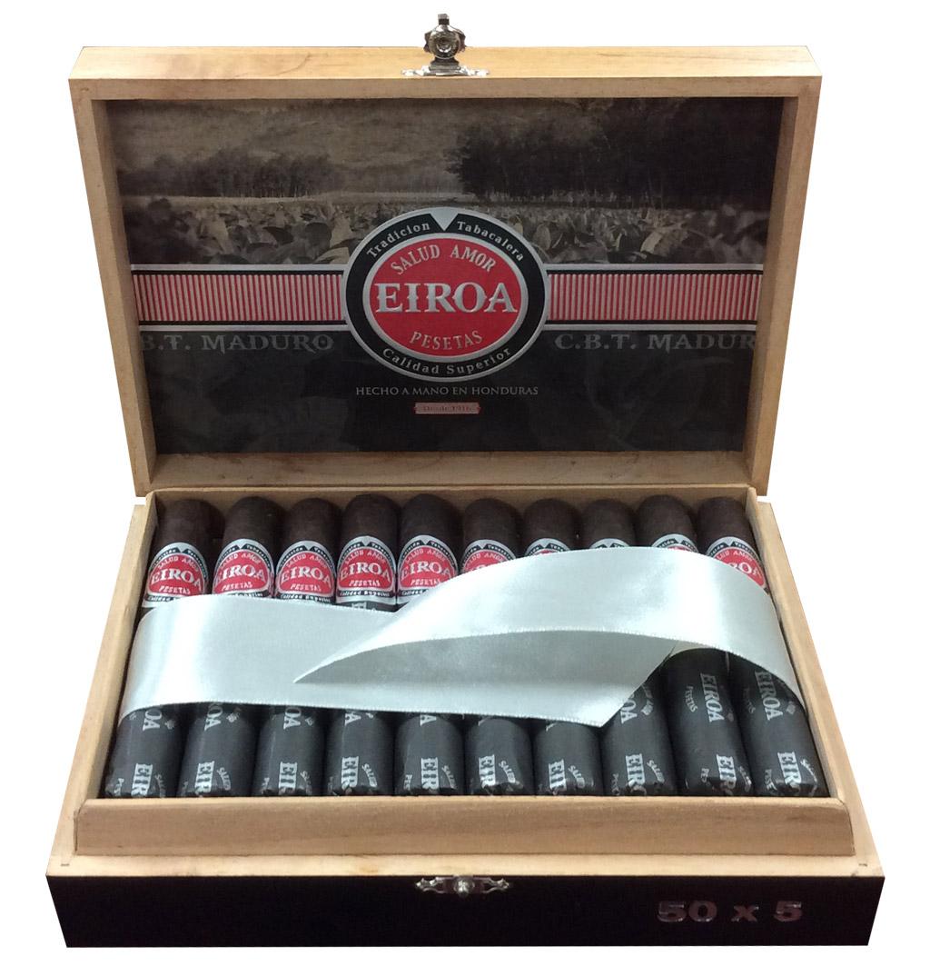 Eiroa CBT Maduro cigar new packaging