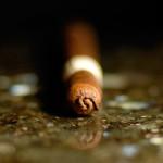 Nomad H-Town San Andrés Lancero cigar pigtail cap