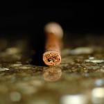 Nomad H-Town San Andrés Lancero cigar foot