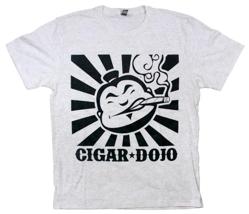 White and Black Cigar Dojo premium shirt for sale