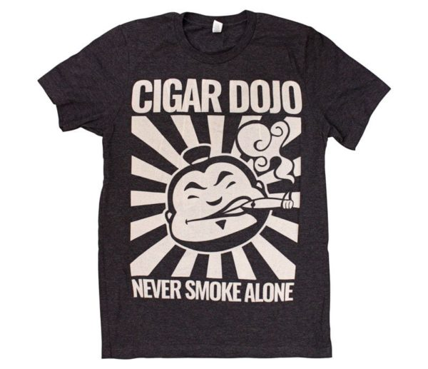 Cigar Dojo bleached grunge shirt