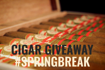 FDG Cigars 20 Aniversario cigar giveaway