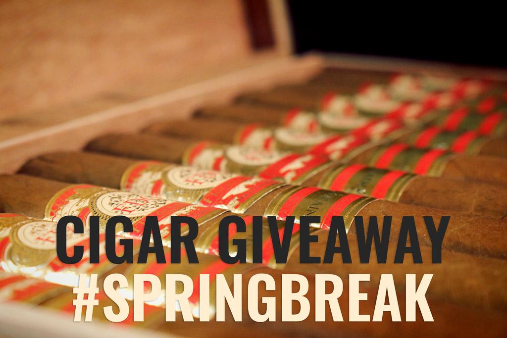 FDG Cigars 20 Aniversario cigar giveaway