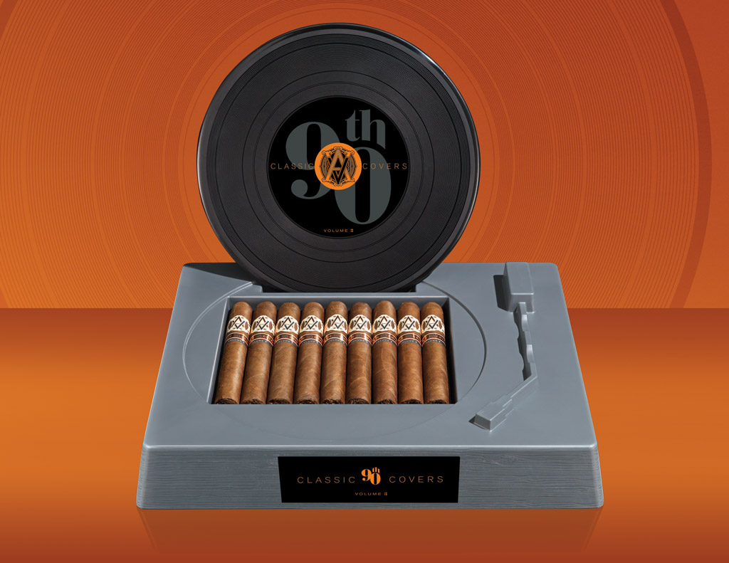 AVO 90th Classic Covers Volume 3 open cigar box
