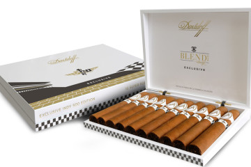 Exclusive Davidoff 100th Running of the Indianapolis 500 cigar packaging