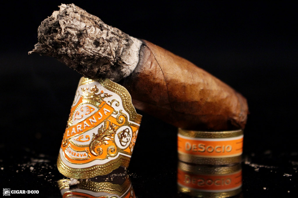 Espinosa Laranja Reserva DeSocio cigar review and rating