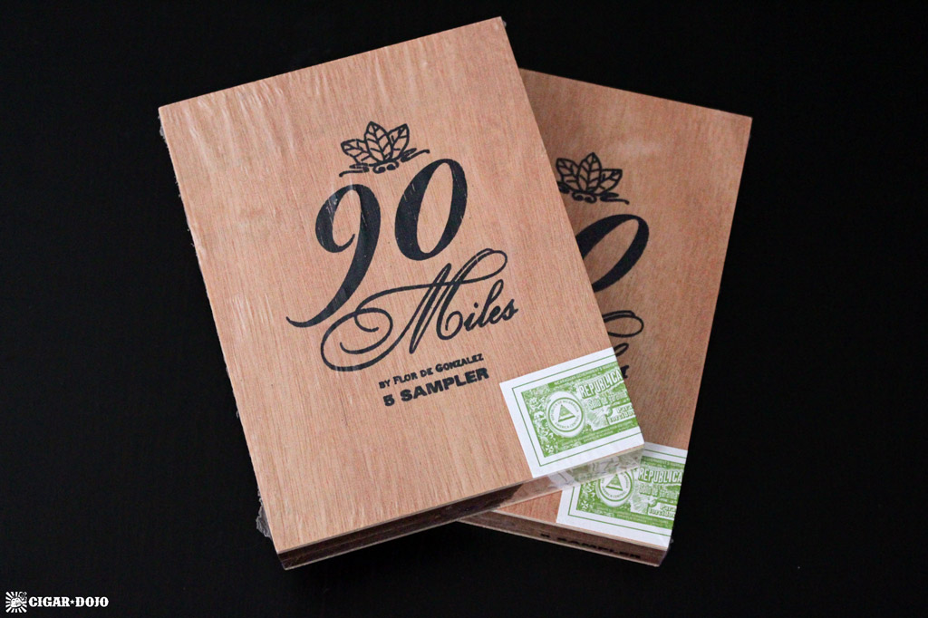 FDG Cigars 90 Miles sampler cigar boxes giveaway
