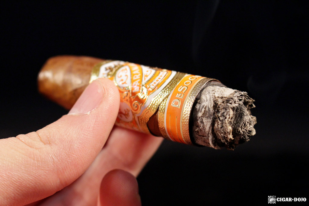 Espinosa Laranja Reserva DeSocio double perfecto cigar review