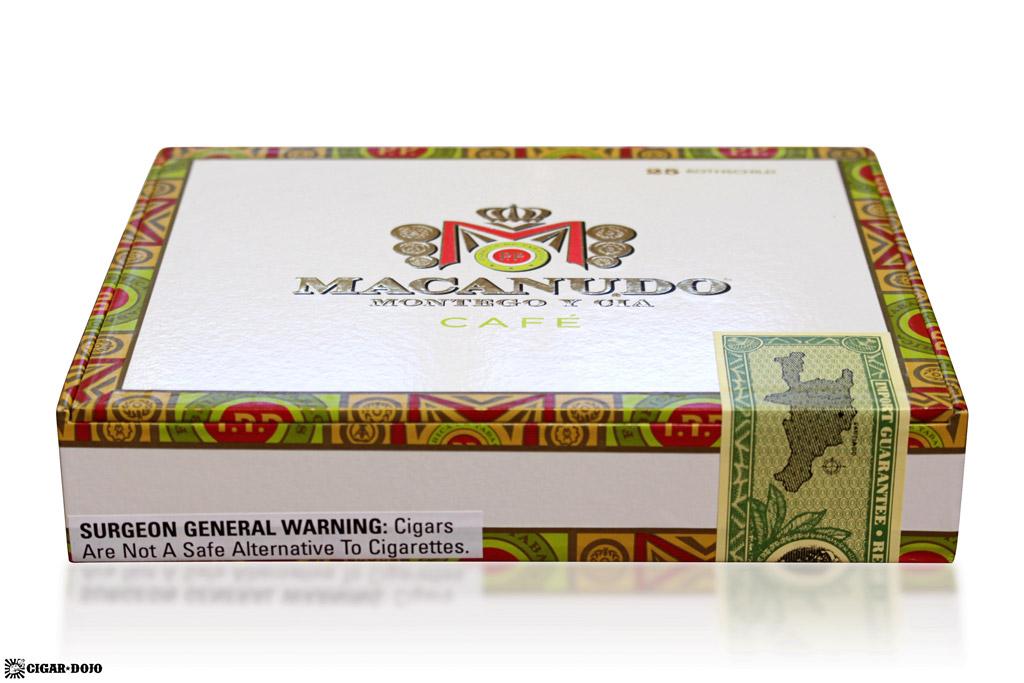 Macanudo new design box of cigars