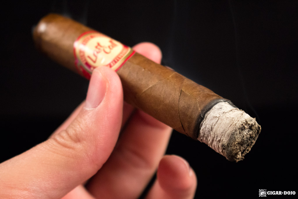 AJ Fernandez Last Call cigar smoking