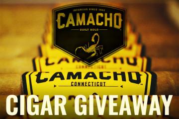 Camacho cigar giveaway