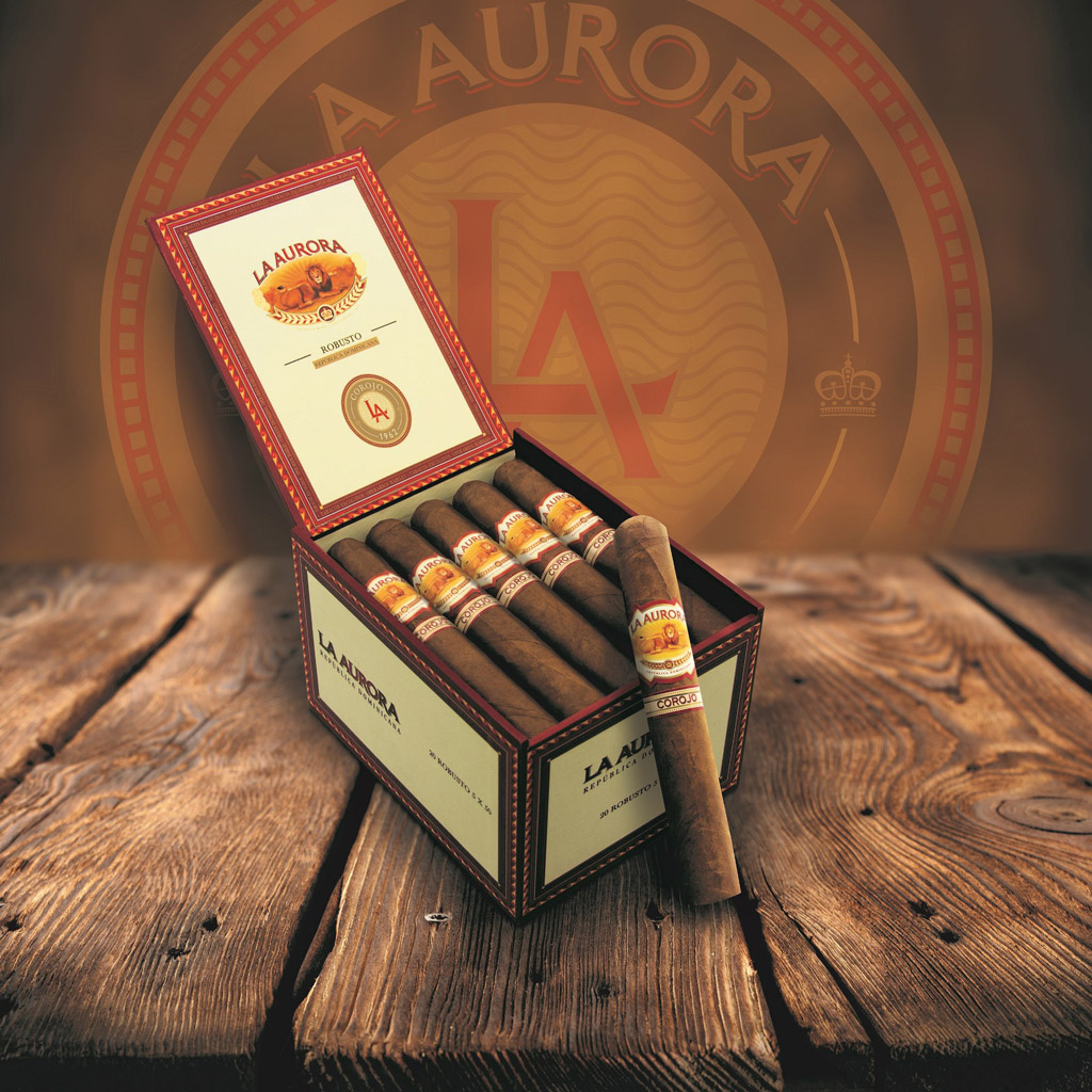 La Aurora 1961 Corojo cigars packaging