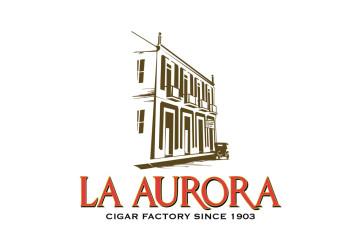 La Aurora Cigar Factory logo
