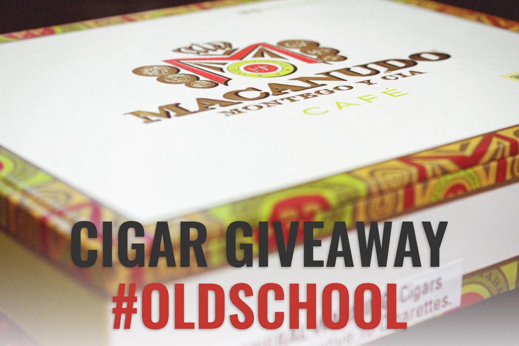Macanudo Café cigar giveaway