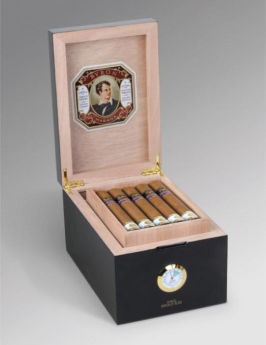 Byron Cigars Serie Siglo XXI humidor 2016