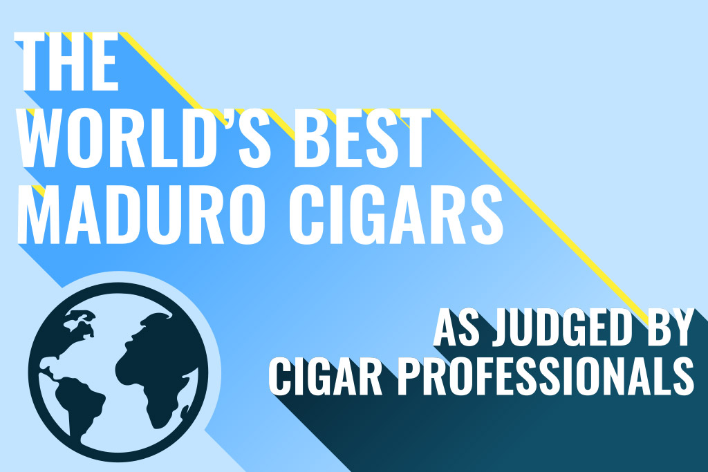 The World's Best Maduro Cigars As Judged by Cigar Professionals