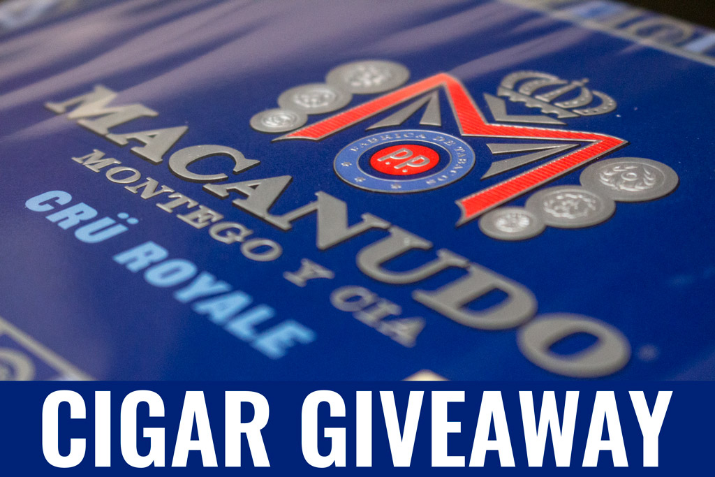 Macanudo Crü Royale cigar giveaway
