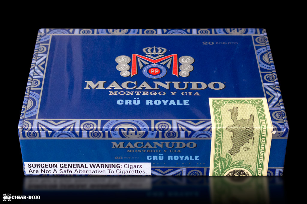 Macanudo Crü Royale 2016 modernized box cigars