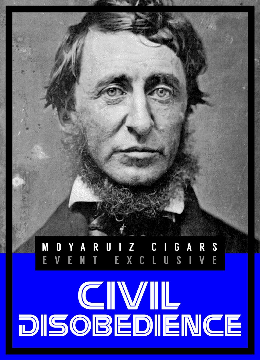 MoyaRuiz Civil Disobedience cigar artwork