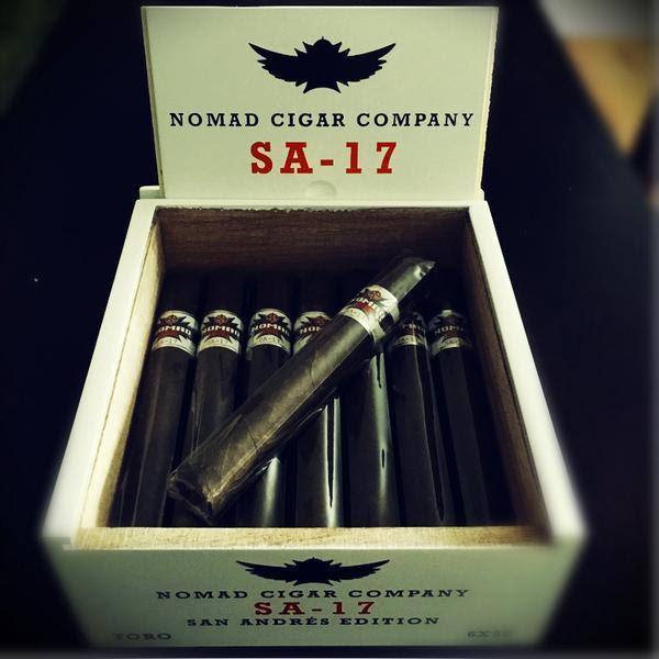 Nomad Cigar Co. SA-17 cigar announcement
