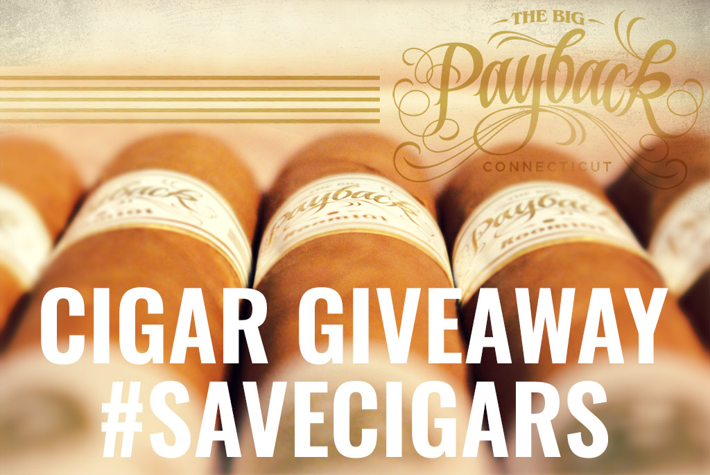 Room101 The Big Payback Connecticut cigar giveaway