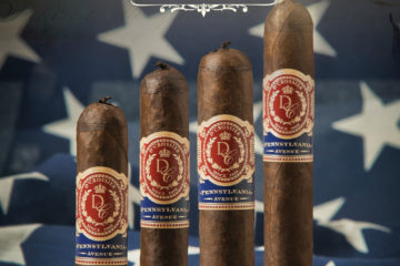 D'Crossier Presidential Collection Pennsylvania Avenue cigar release