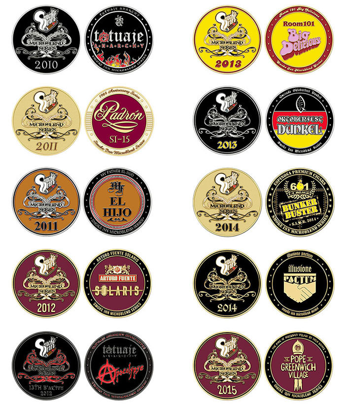 Smoke-Inn-microblend-collection-challenge-coins - Cigar Dojo