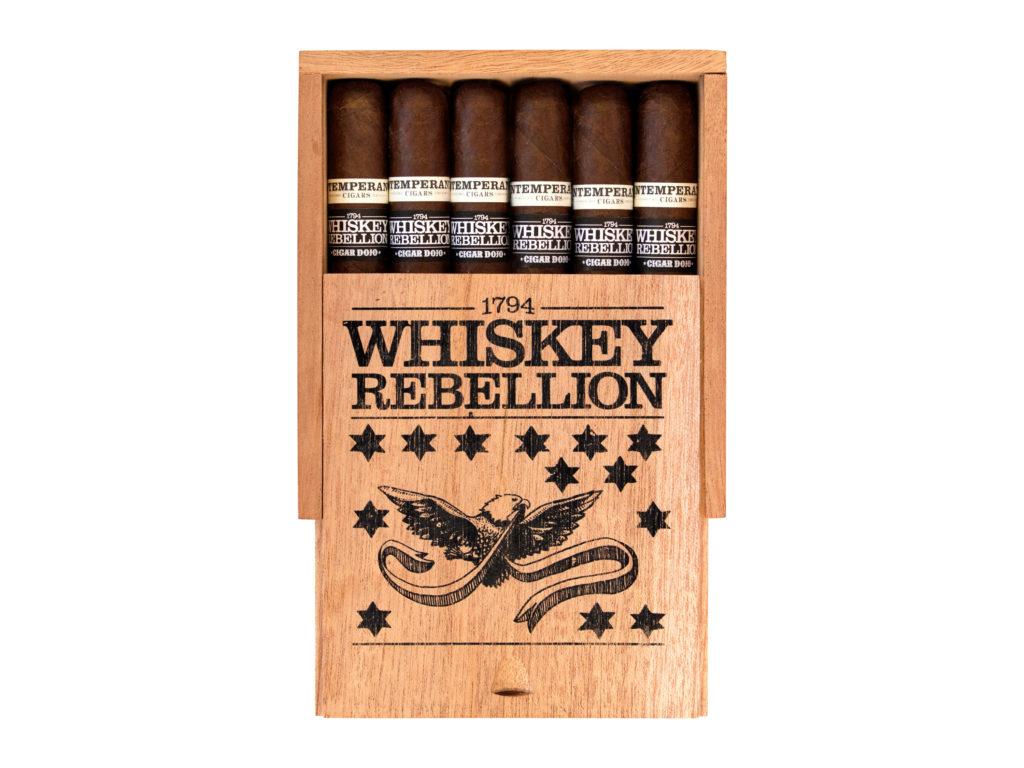 Intemperance Whiskey Rebellion cigar box open