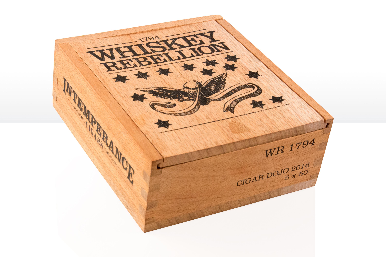 Intemperance Whiskey Rebellion cigar release