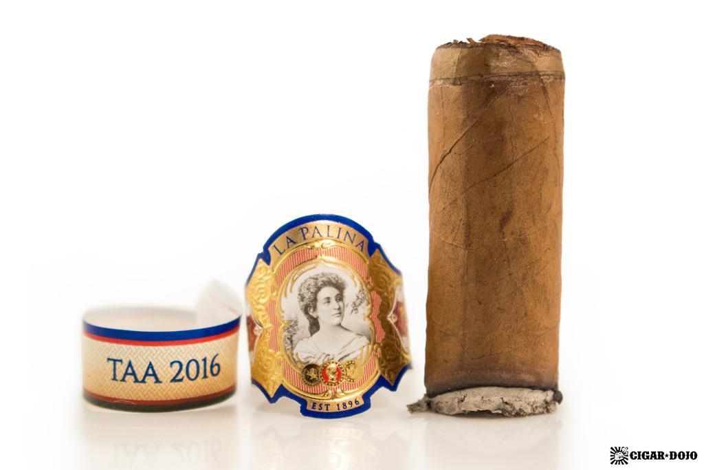 """La Palina """"Bill's Blend"""" TAA 2016 cigar review and rating"""