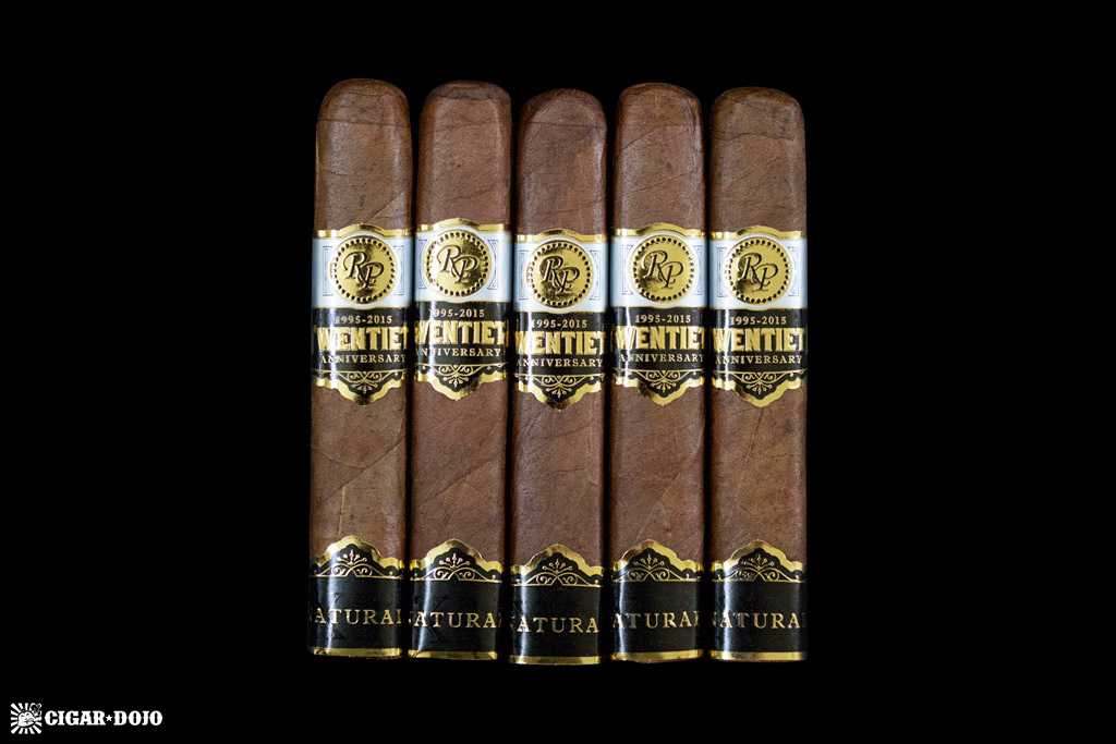 Rocky Patel Twentieth Anniversary 5-pack cigar giveaway