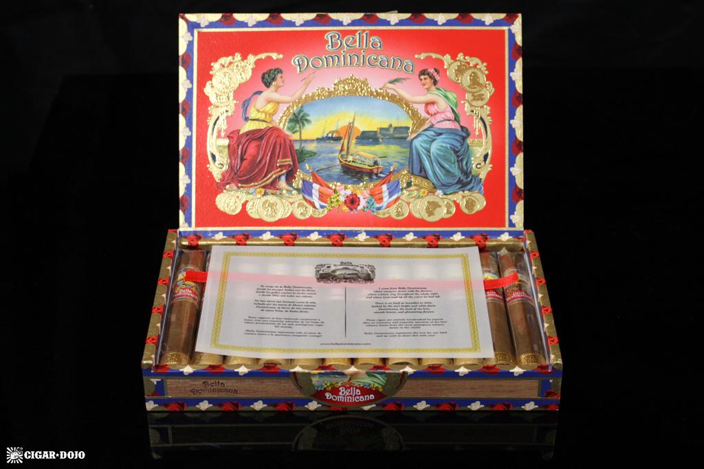 Bella Dominicana open cigar box