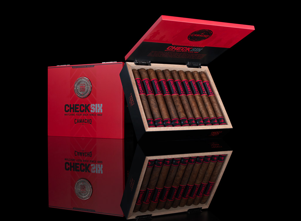 Camacho Check Six cigars packaging