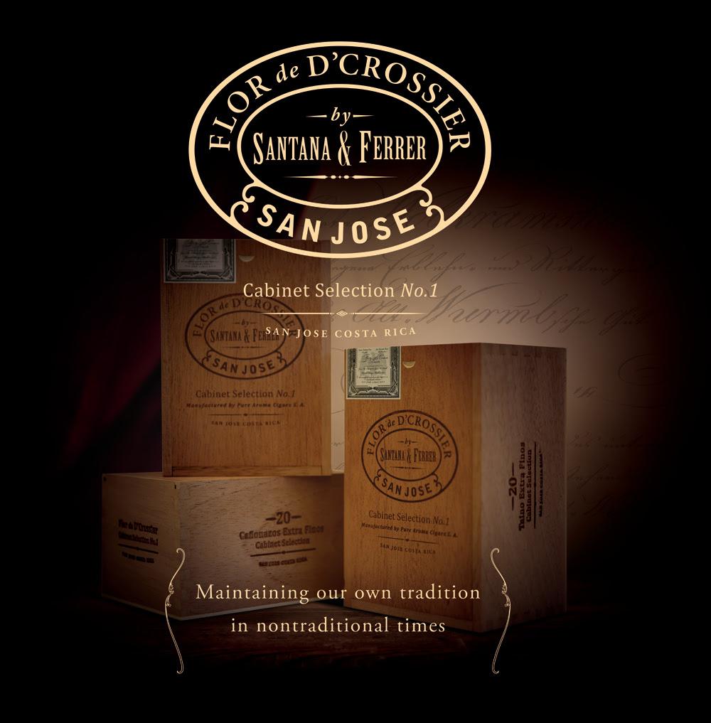Flor de D'Crossier Cabinet Selection No.1 cigars