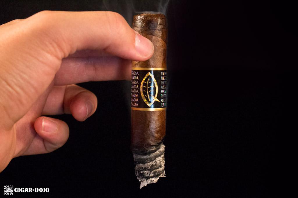 Quesada Reserva Privada Oscuro cigar smoking