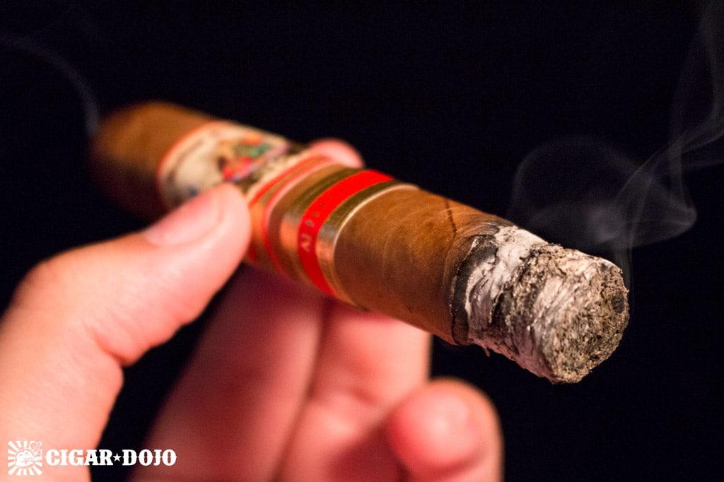 AJ Fernandez Bellas Artes Robusto Extra smoking cigar review