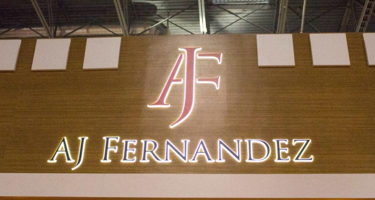 AJ Fernandez cigar booth IPCPR 2016
