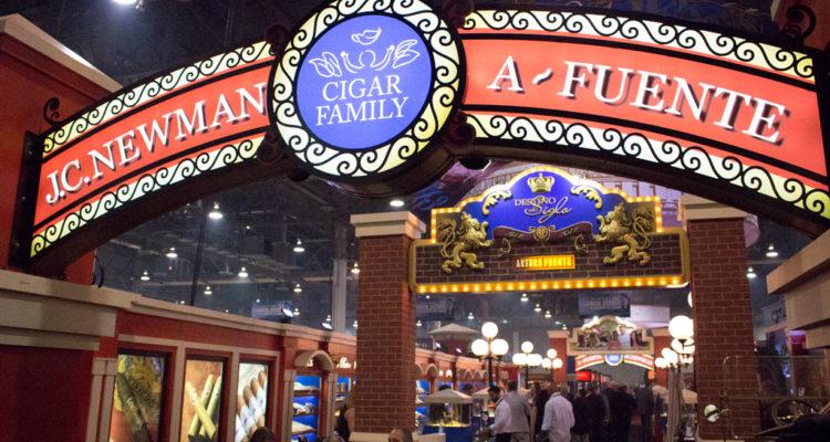 Arturo Fuente cigar booth IPCPR 2016