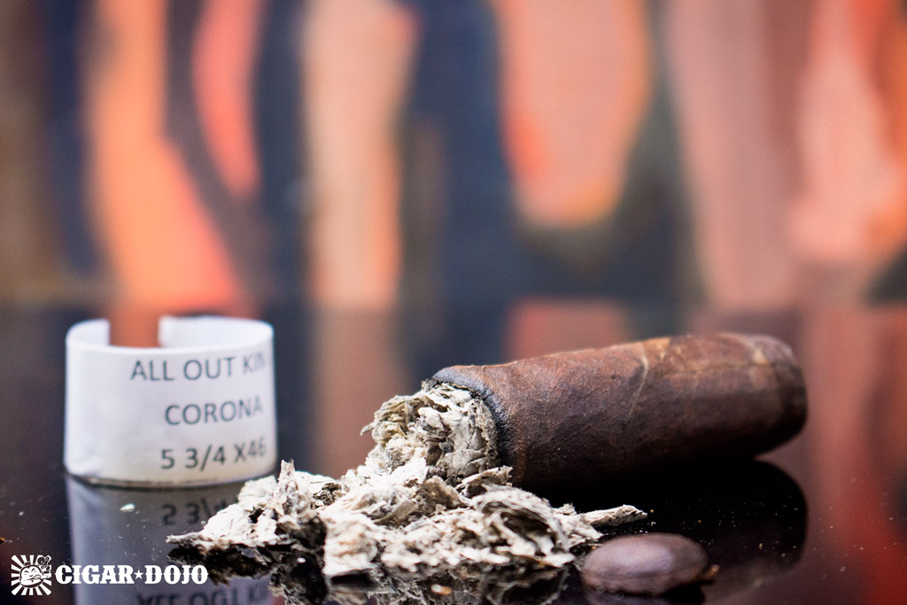 Caldwell All Out Kings cigar review and rating