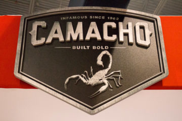 Camacho Cigars booth IPCPR 2016