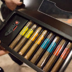 Camacho cigars and knife sampler set IPCPR 2016