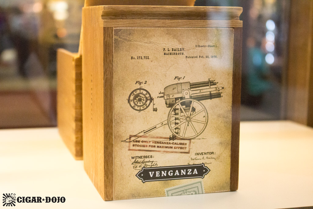 Cornelius & Anthony Venganza cigar box art IPCPR 2016